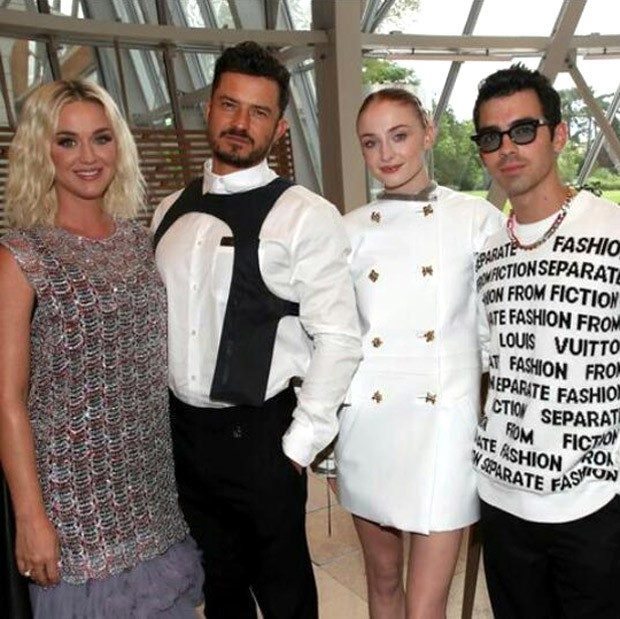 Katy Perry, Orlando Bloom, Sophie Turner and Joe Jonas are stylish couple goals at Louis Vuitton Parfum dinner