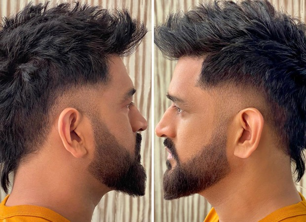 MS Dhoni gets a makeover, flaunts his new faux-hawk cut by Aalim Hakim