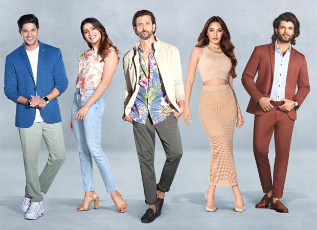 Myntra brings Hrithik Roshan, Vijay Deverakonda, Samantha Akkineni, Dulquer Salmaan & Kiara Advani together in a single frame