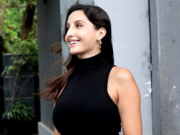 Nora Fatehi spotted at Pooja Entertainment films in Juhu