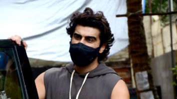 Photos: Arjun Kapoor snapped at a dance class in Andheri