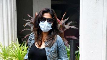 Photos: Chitrangda Singh spotted at a dental clinic in Bandra