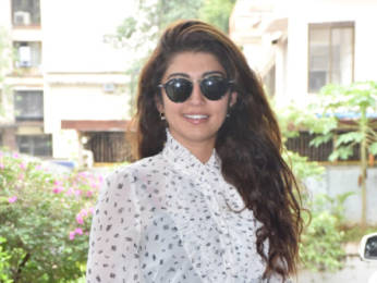 Photos: Meezaan Jafri and Pranitha Subhash snapped promoting Hungama 2