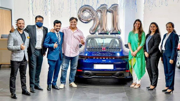 Ram Kapoor buys a swanky Porsche car worth Rs. 1.8 crore