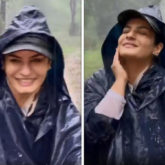 Raveena Tandon enjoys rain safari while grooving to 'Tip Tip Barsa Pani', watch video