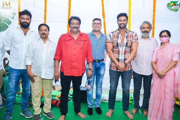 SS Rajamouli claps for mahurat shot of Bellamkonda Sai Sreenivas' Hindi remake of Chatrapathi