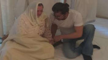 Shah Rukh Khan, CM Uddhav Thackeray, Aditya Thackeray console Saira Banu as they pay last respects to Dilip Kumar