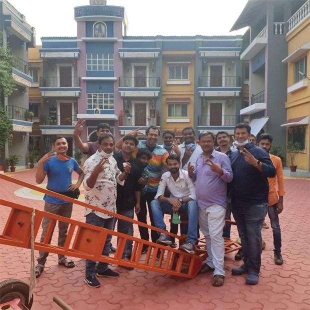 Taarak Mehta Ka Ooltah Chashmah's crew returns to Gokuldham society after wrapping up the shoot in Gujarat