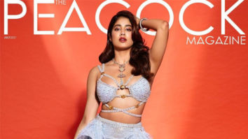 Janhvi Kapoor On The Covers Of The Peacock