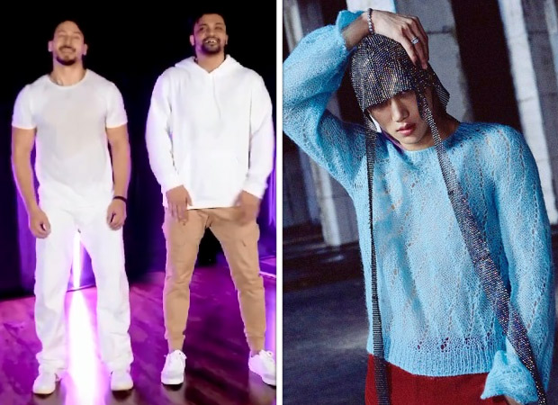 Tiger Shroff flaunts his sexy moves with choreographer Rajit Dev on K-pop group EXO member Kai's song 'Mmmh'