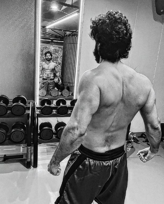 Varun Dhawan gives a glimpse of ripped physique, says 'time to say goodbye to my long hair' as 'Bhediya' shoot nears end