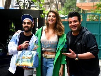 Photos: Varun Sharma, Manjot Singh, Elnaaz Norouzi and others snapped at the screening of Chutzpah