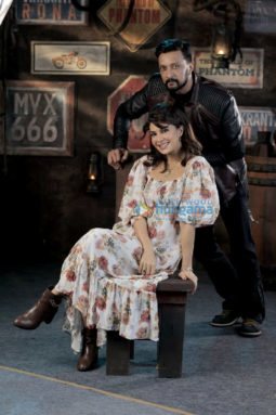 On The Sets From The Movie Vikrant Rona