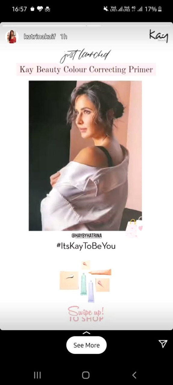 Katrina Kaif spills her Prime secret; launches Color Correcting Primer in five shades under Kay Beauty