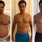 Rohit Roy shares his body transformation journey in pictures; says there are no magic pills and shortcuts