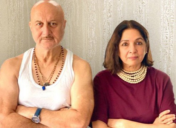 Anupam Kher and Neena Gupta to share screen space in Shiv Shastri Balboa; first look out