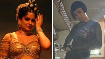 """""""Journey like no other"""", says Kangana Ranaut as she shares her look from Thalaivi and Dhaakad"""