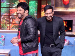 Ajay Devgn and the team of Bhuj at The Kapil Sharma Show Promo 2