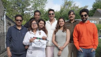 Akshay Kumar, Sargun Mehta, Chandrachur Singh begin the shoot of Cinderella in the UK