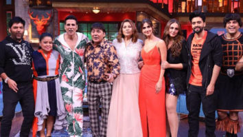 Akshay Kumar and the team of Bell Bottom at The Kapil Sharma Show Promo 1