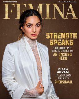 Kiara Advani On The Covers Of Femina