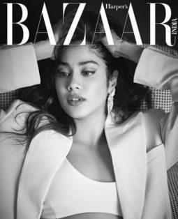 Janhvi Kapoor On The Cover of Harper's Bazaar