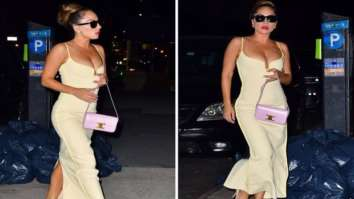 Lady Gaga makes Manhattan streets her runway in yellow bodycon dress; her diamond earrings are worth whopping Rs. 95 lakh