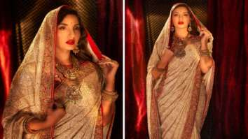Nora Fatehi looks like an absolute goddess in her royal traditional ensemble