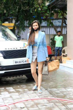 Photos: Arbaaz Khan and Georgia Adriani snapped in Bandra