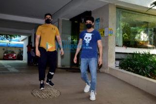 Photos: Kartik Aaryan and Sunny Singh snapped in Juhu