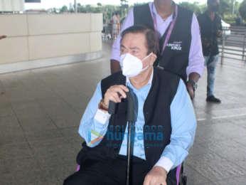 Photos: Raveena Tandon, Hansika Motwani, Boman Irani and others snapped at the airport