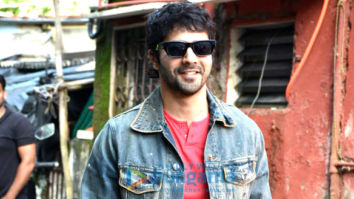 Photos: Varun Dhawan spotted at a studio for the rehearsals of his film Jug Jugg Jeeyo