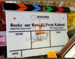 On The Sets Of The Movie Rocky Aur Rani Ki Prem Kahani