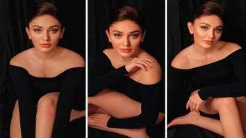 Shefali Jariwala looks smokin' hot in all black bodysuit
