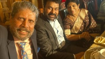 Chiranjeevi dines out with old friend Kapil Dev; says he is very much the Haryana Hurricane who won us our first World Cup