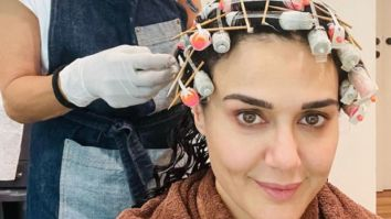 """Preity Zinta thanks hairstylist Adhuna Bhabani for new look; says """"Thank you for being my go to person"""""""