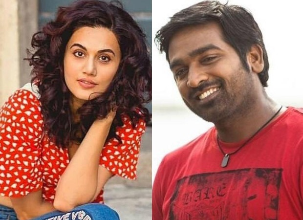 """""""I liked his work and heard good things about him from before"""" – Taapsee Pannu on working Vijay Sethupathi in Annabelle Sethupathi"""