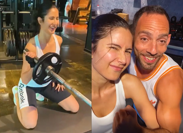 """I train my mind, my body will follow"" - says Katrina Kaif as she shares a new workout video amid Tiger 3 shoot"