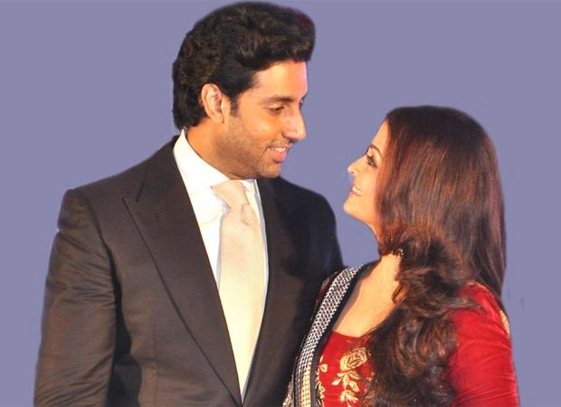 Abhishek Bachchan presents a 'photoshopped' wedding photo of himself and Aishwarya Rai Bachchan
