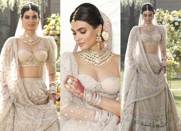 Diana Penty looks like a rosy dream in Falguni and Shane Peacock Couture in stills from Shiddat