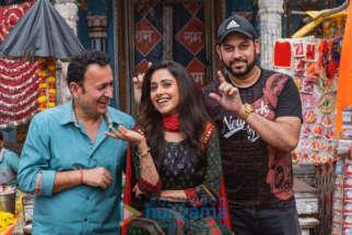 On The Sets Of The Movie Janhit Mein Jaari
