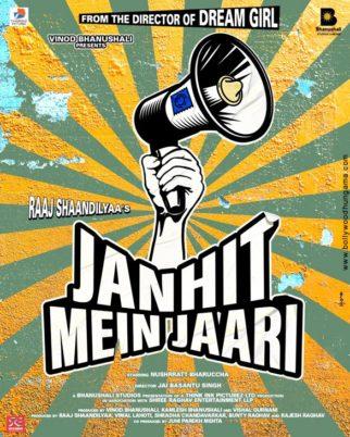 First Look Of Janhit Mein Jaari