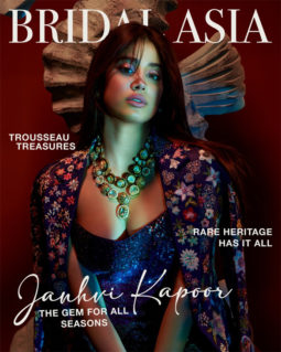Janhvi Kapoor On The Cover Of Bridal Asia