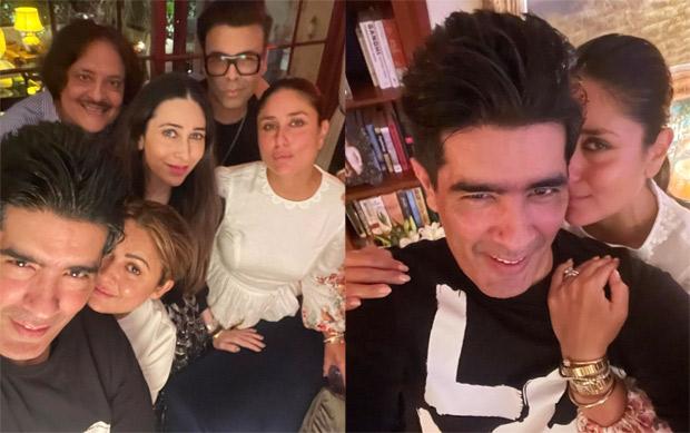 Karan Johar, Karisma Kapoor, and Manish Malhotra have a blast at Kareena Kapoor's party