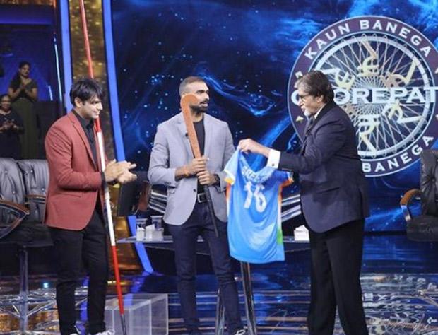 Kaun Banega Crorepati 13: Olympic gold medalist Neeraj Chopra's hilarious Haryanvi take on Amitabh Bachcan's Silsila dialogue leaves everyone in splits