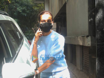 Photos: Kriti Kharbanda spotted outside a clinic in Santacruz
