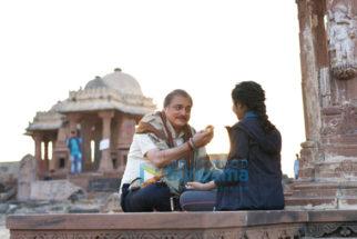 On The Sets Of Rashmi Rocket