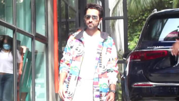 Spotted Ayushmann Khurrana at office of Maddock Films in Santacruz, Mumbai