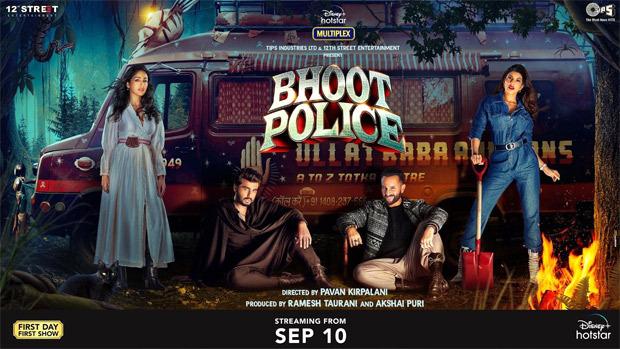Bhoot Police starring Saif Ali Khan, Arjun Kapoor, Jacqueline Fernandez and Yami Gautam arrives a week early on Disney+ Hotstar