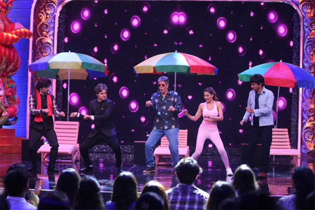 """""""I am a fan of Chunky Pandey,"""" reveals Nikki Tamboli as she shakes a leg with the actor on Zee Comedy Show"""